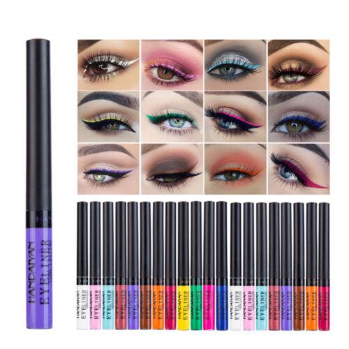 Long-Lasting Matte Liquid Eyeliner Bright Color Waterproof E