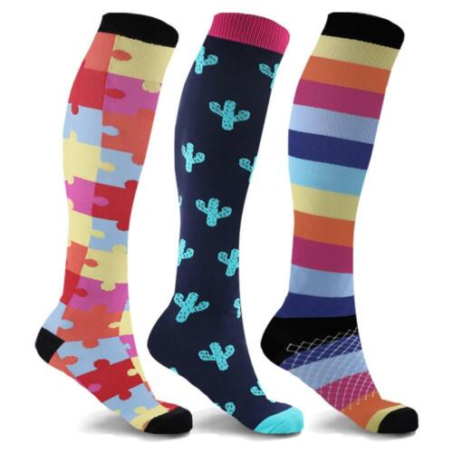 Women Compression Socks 4 count Leg Warmers Best for Running And Athletic Sports