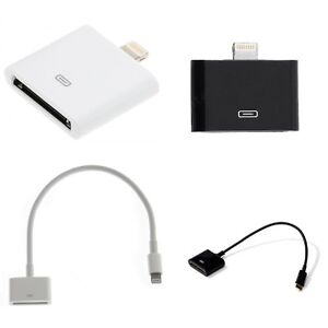 30 pin apple iphone to lightning adapter power data. Black Bedroom Furniture Sets. Home Design Ideas