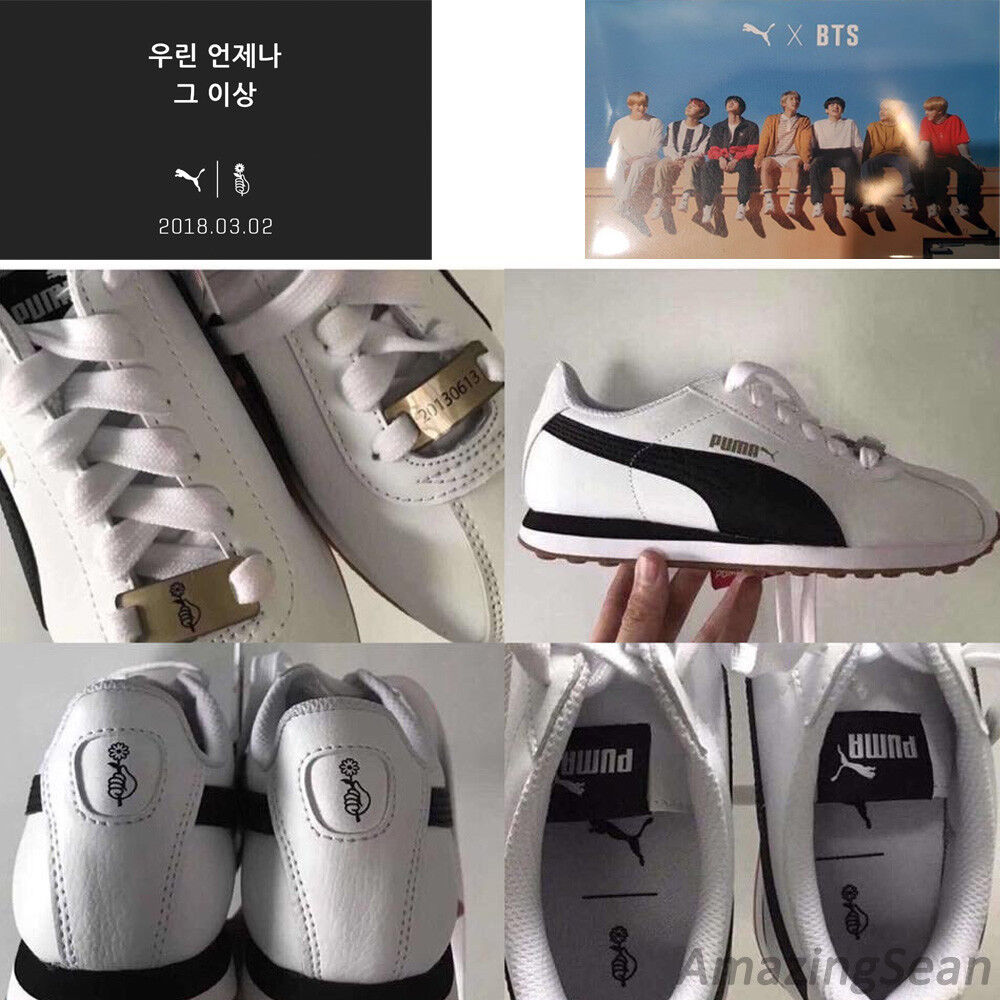 PUMA X BTS TURIN Shoes + Photo Card, BANGTAN BOYS ...