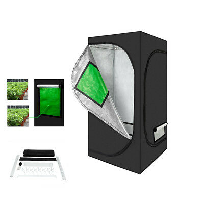 """32""""x32""""x64"""" Indoor Plant Hydroponic Grow Tent with Removable Floor Tray New"""