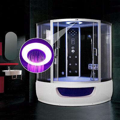 Steam Shower Corner Bath whirlpool Jacuzzi  Cabin Cubicle Enclosure NO:HGZM48