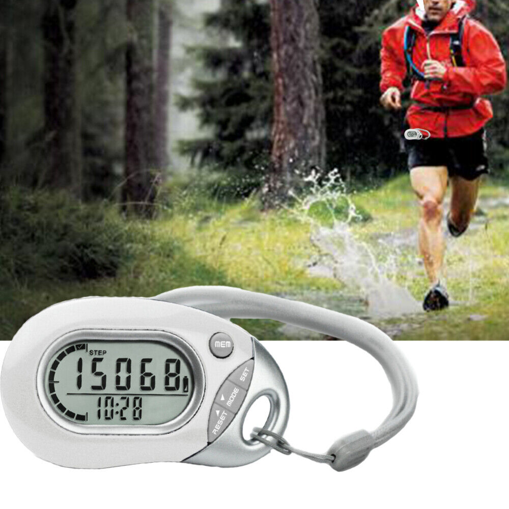 New Digital Pedometer Walking Jogging Hiking Calorie Distance Counter With LCD