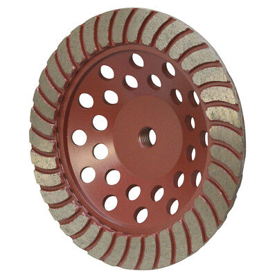 7 Concrete Grinding Cup Wheel Angle 78-11mm Arbor Masonry Grinder