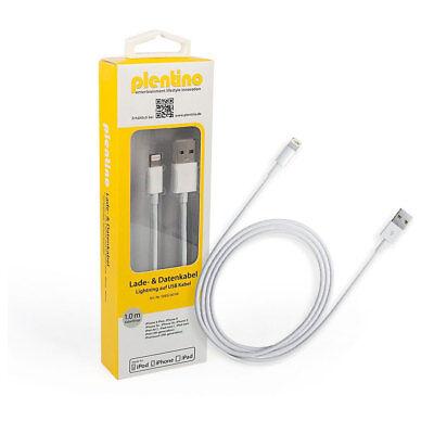 3 Stück Apple MFi Zertifiziert Lightning Kabel to auf USB 1 Meter neue Version w