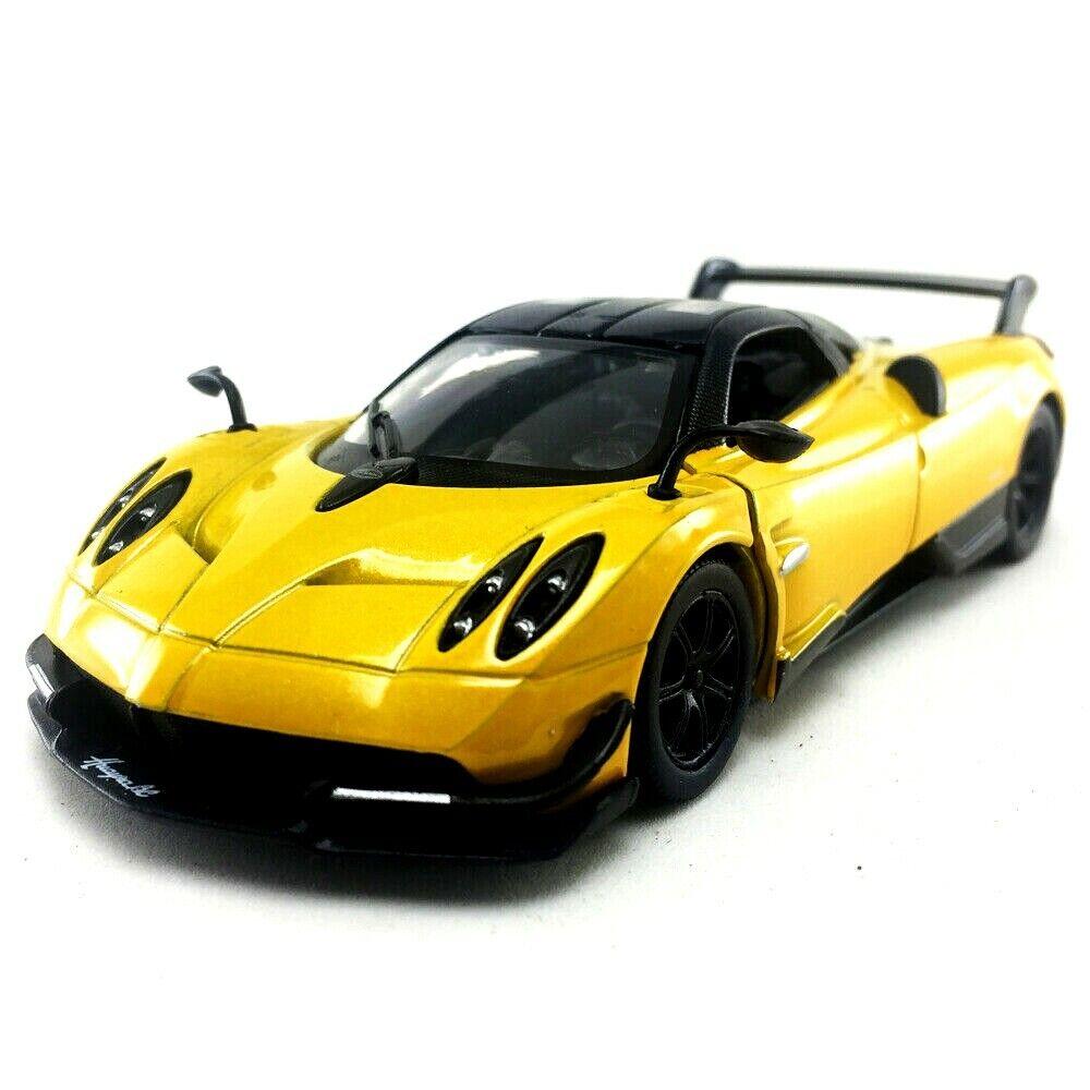 Pagani Huayra BC Coupe Yellow from 2012 Ca 1//43 1//36-1//46 Kinsmart Model Car