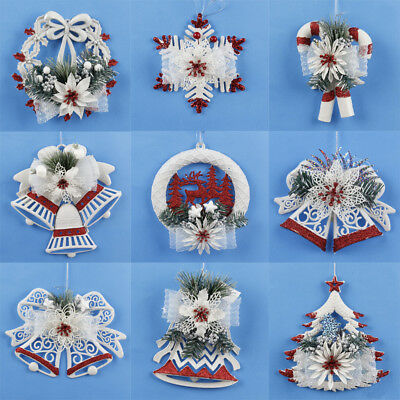Christmas Chip Tree Ornaments Xmas Hanging Home Pendant Gifts Decorations Decor](Hanging Ornaments)