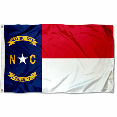 State of North Carolina Flag for Flagpole