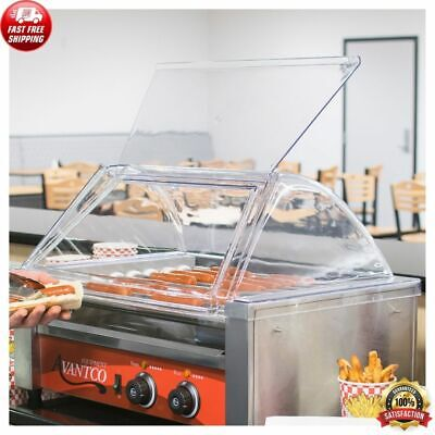 18 Hot Dog Roller Clear Acrylic Plastic Grill Sneeze Gaurdcover Only Equipment