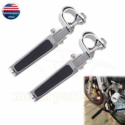 Motorcycle Long Highway Foot Pegs Footrests Kit For Harley 1