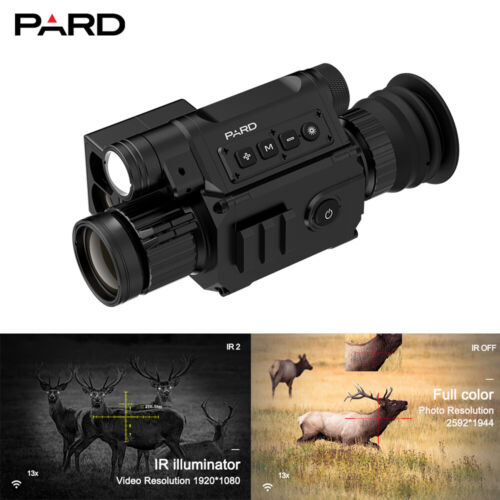 Pard NV008PLRF Laser rangefinder  Day&Night Vision scope WiFi IOS & Android Apps