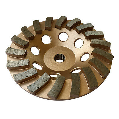 5 Concrete Grinding Cup Wheels 18 Diamond Abrasive Seg 58-11 Arbor