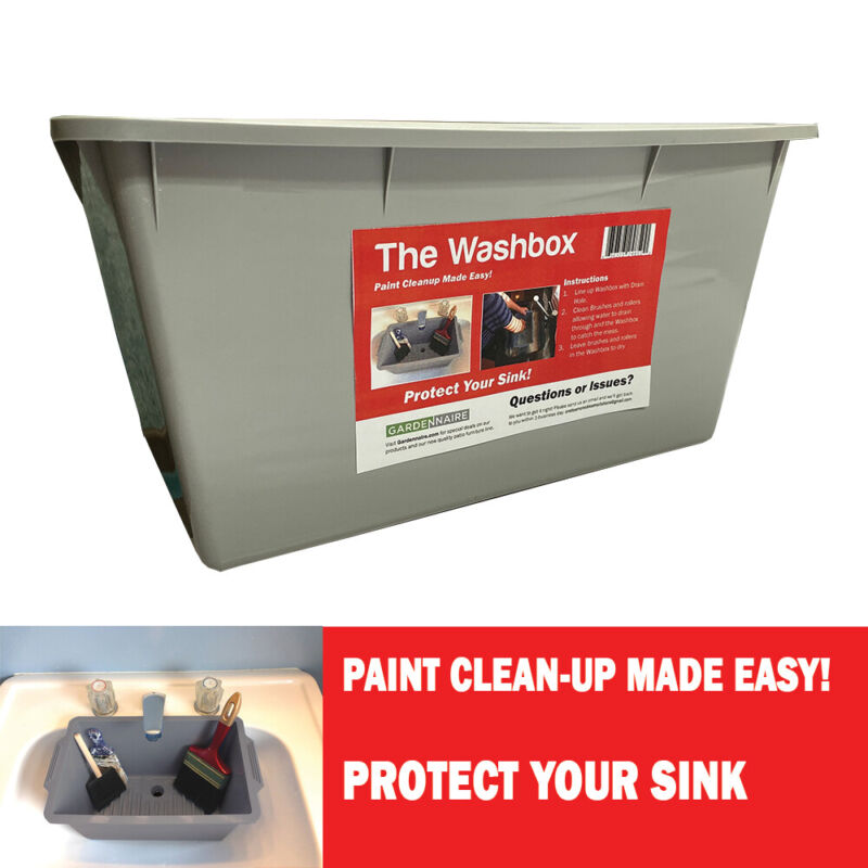 The Washbox Paint Clean-Up Sink Protector