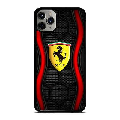 FERRARI CAR LOGO iPhone 5/5s 6/6S 7/8 Plus X/XS XR 11 PRO MAX Case