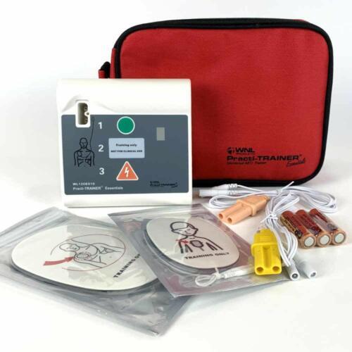 NEW WNL Practi-Trainer Essentials CPR AED Defibrillator Trainer WL120ES10
