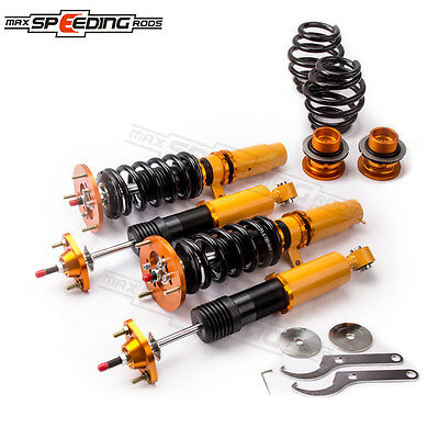 For BMW E46 3 Series 98-02 Adjustable 24 Way Damper Coilovers Breakdown Struts Sales