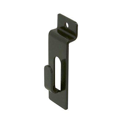 Only Hangers Black Slatwall Picture Hooks - 10 Pcs