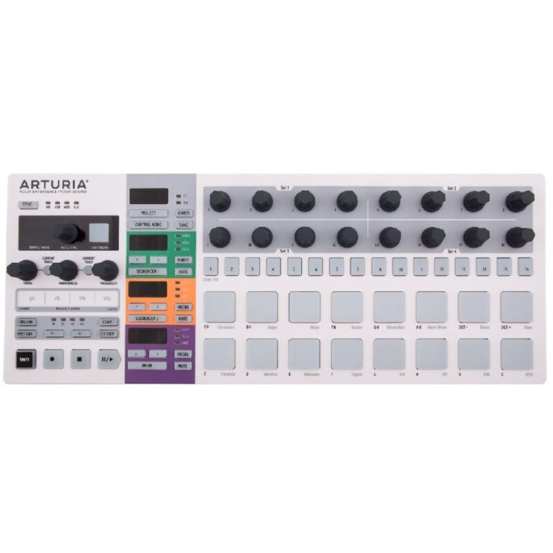 Arturia BeatStep Pro MIDI USB Analog Digital Drum Controller Step Sequencer