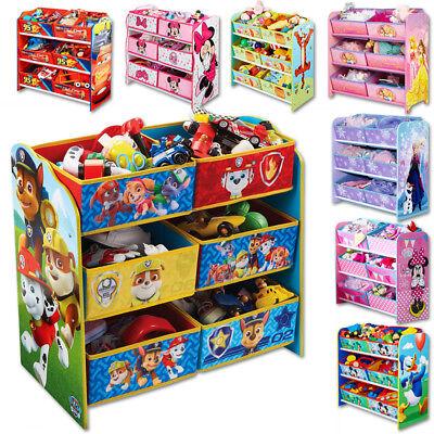 Disney Kinderregal Regal Aufbewahrung Spielzeugkiste Spielzeugbox Kindermöbel