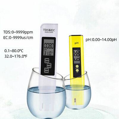 Kit 2in1 Medidor Profesional Ensayador Ppm Acidez Pureza Agua Ph Ce Tds