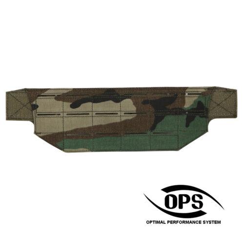 OPS Modular Belt Mount MOLLE Panel M81 Woodland
