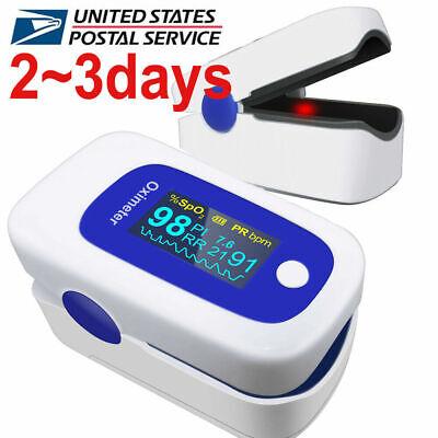 Oled Pulse Oximeter Spo2 Respiration Rate 4parameter Monitor Cefda Usa Ups