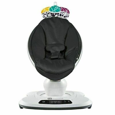 4moms MamaRoo 4 infant seat / swing –Classic Black used (IN ORIGINAL RETAIL BOX)