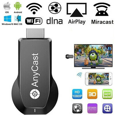 AnyCast WiFi Display Dongle Receiver DLNA TV Stick 1080P HDMI Airplay Miracast