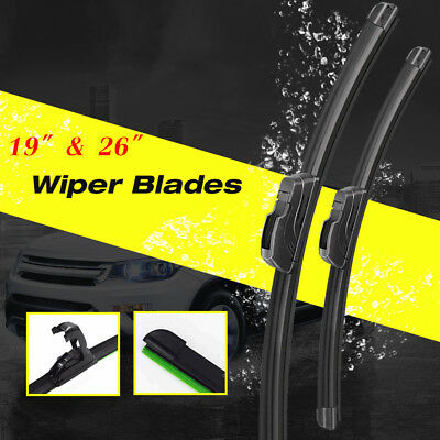 26  19 Windshield Wiper Blades Bracketless OEM Quality ALL SEASON PREMIUM USA