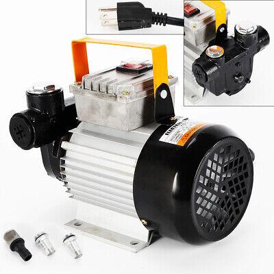 Ac110v 550w 16gpm Oil Transfer Pump Fuel Diesel Kerosene Biodiesel Self Priming