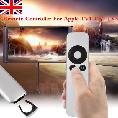 Silver Quality Replacement Remote Control for Apple TV TV2 TV3 TV4  All Gen. UK