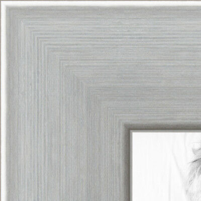 ArtToFrames Custom Picture Poster Frame Silver Stainless Ste