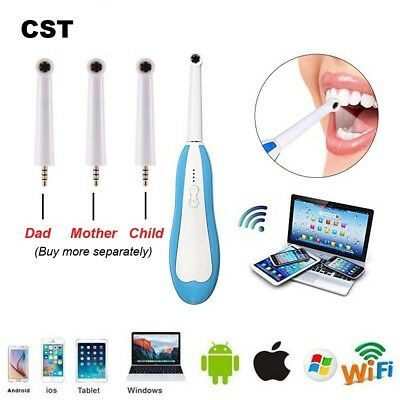 Cst Oral Dental Wireless Wifi Intraoral Camera Endoscope Borescope Usb Hd Led