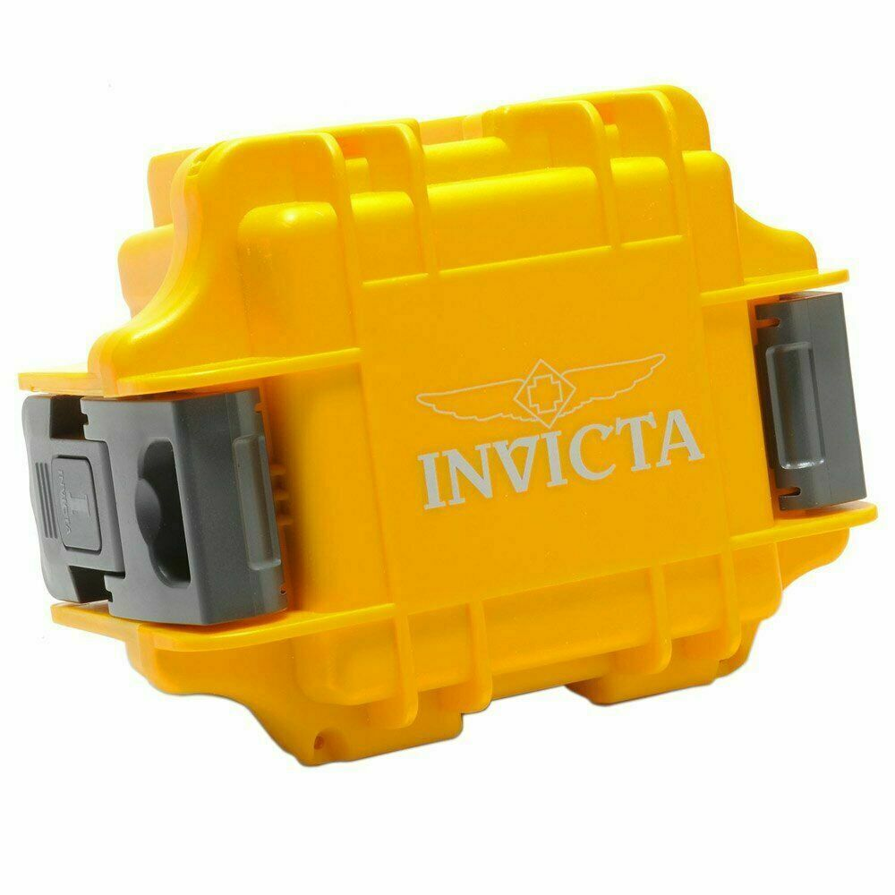 Invicta IPM10 One Slot Yellow Watch Collector Box