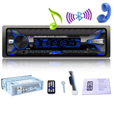 12V 1Din Bluetooth Kfz Auto Radio Audio Stereo MP3 Player SD FM USB Telefonat 1x