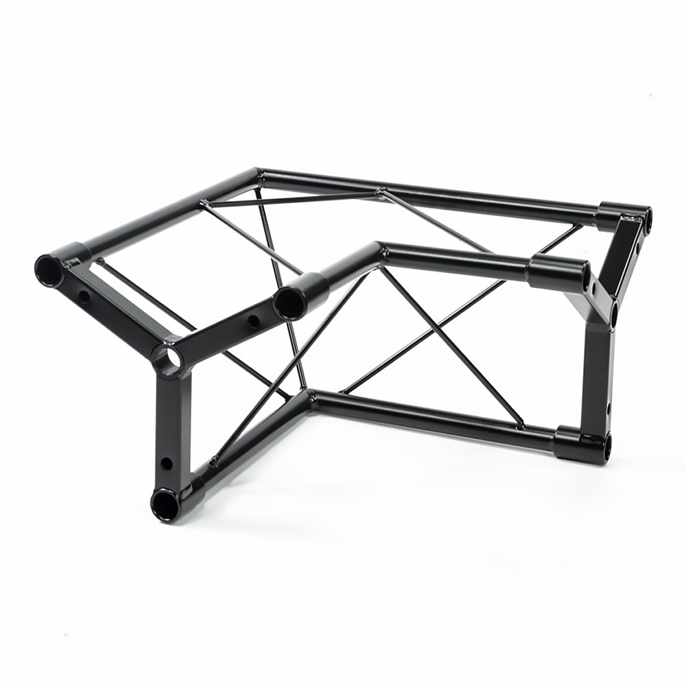 Details About Simply Sound Lighting Right Angle Truss Black Dj Stand Rzk 1