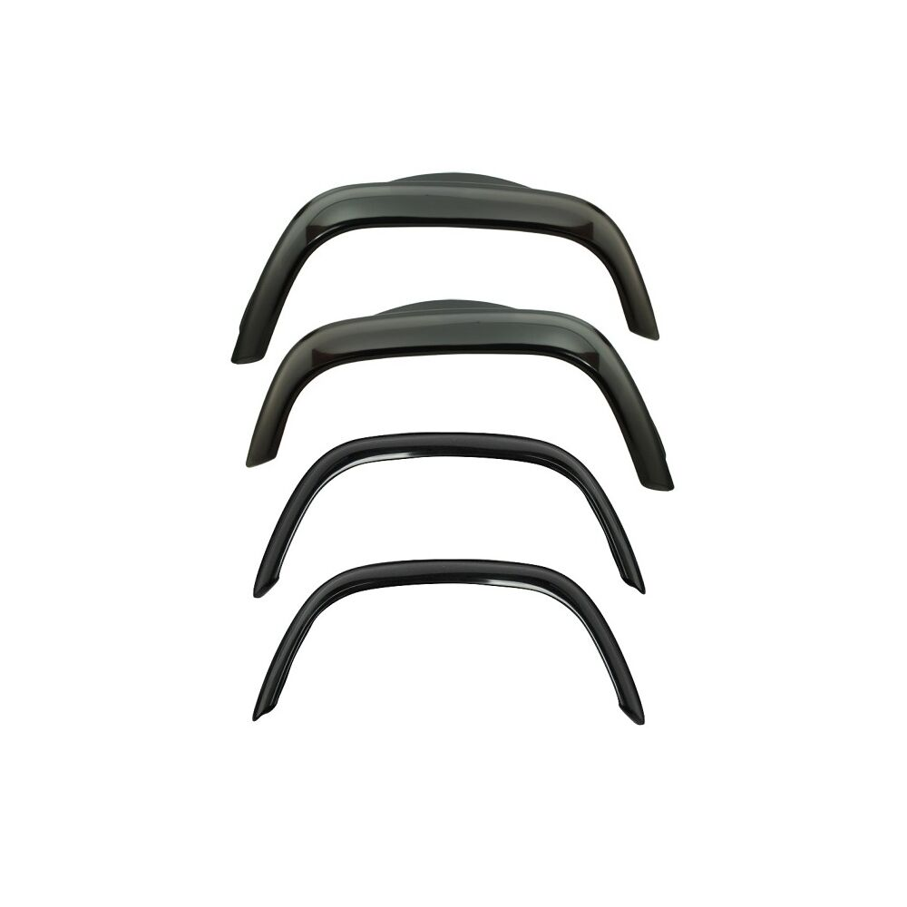 Front Amp Rear Wheel Arch Flares Full Set 4 Gloss