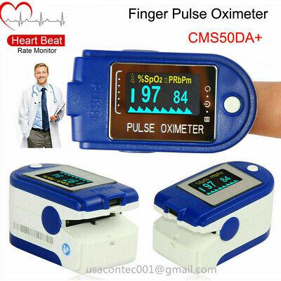 Usa 24h Fingertip Pulse Oximeter Blood Oxygen Spo2 Pulse Rate Meter Usbsoftware