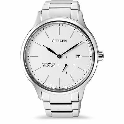 CITIZEN NJ0090-81A Automatic Super Titanium White Dial 21 Jewels Men's Watch
