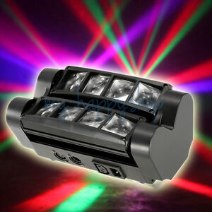 150W LED Moving Head Spider RGBW Beam Light Disco KTV DJ Club Show DMX Automatic
