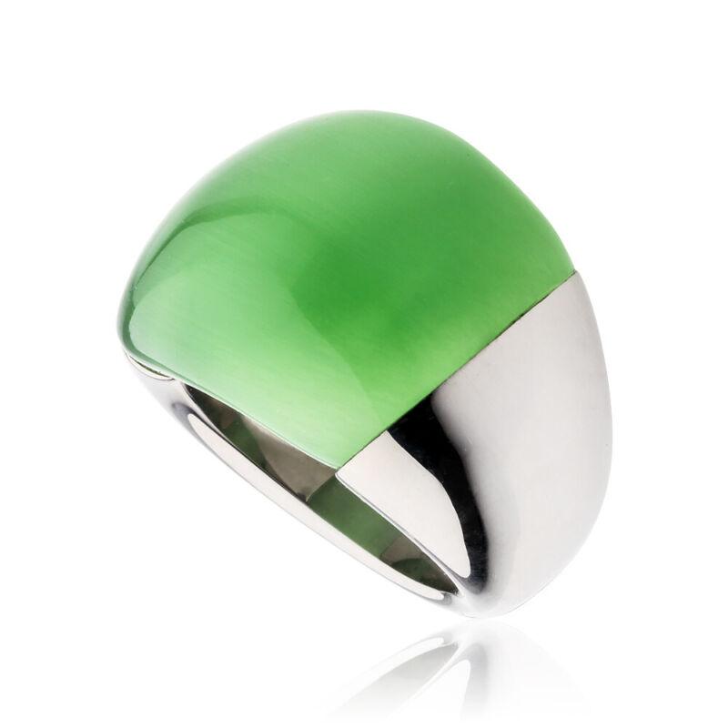 Calvin Klein Ellipse Two Tone Size 7 Ring KJ03OR010107