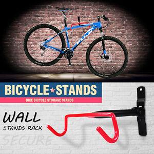 AU Premium Wall Mounted Large Bike Bicycle Hanger Hook Garage Storage Rack Mount