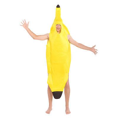 Adult Banana Hawaiian Fancy Dress up Costume Party Fun Cosplay One size