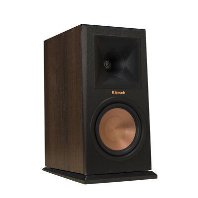 Klipsch Rp 160M Wl Walnut Bookshelf Speakers   Pair   Open Box