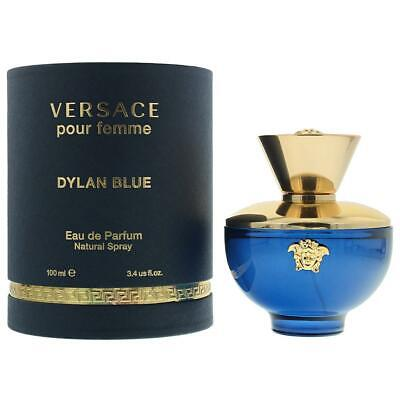 Versace Dylan Blue Pour Femme Eau de Parfum 100ml Spray Women's - NEW. EDP