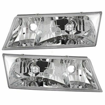 FLEETWOOD EXCURSION 2008 2009 PAIR HEADLIGHTS HEAD LIGHTS FRONT LAMPS RV