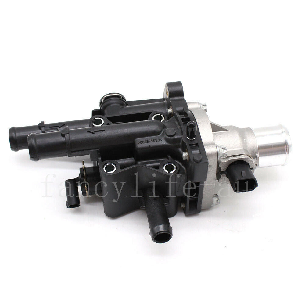Engine Coolant Thermostat Housing for 09-11 Chevy Aveo Aveo5 09 Pontiac G3 G3 Wave 1.6L 96984102