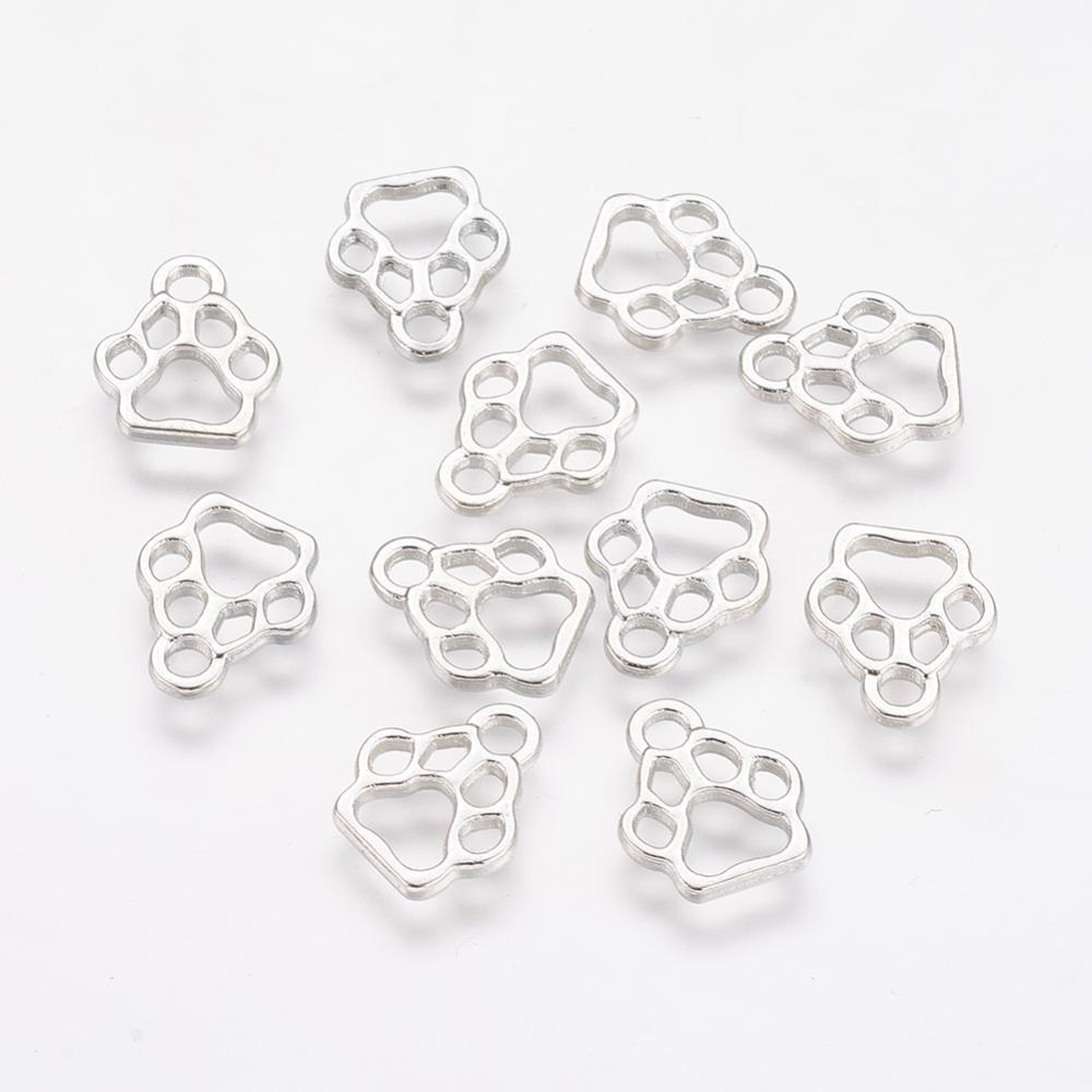 BULK 40 Cross Charms Antique Silver Tone Fabulous Solid Cross with Heart SC492