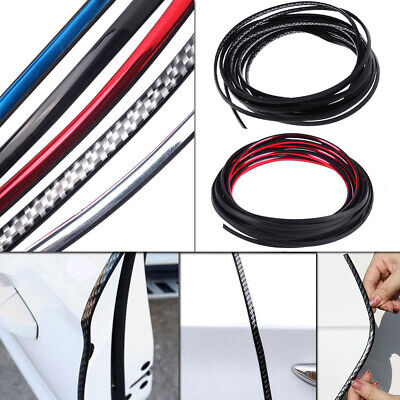 16ft Universal Car Door Edge Anit-scratch Protector Body Cover Trim Guard Strip