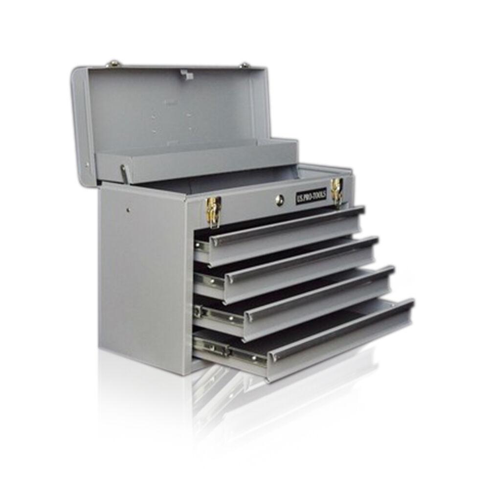 180 US Pro Tools Single Portable Tool Box Chest Srorage